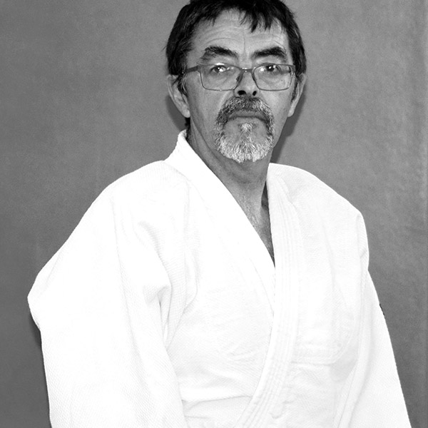 Yves Bellet, enseignant au club Musubi Aikido Villeneuve