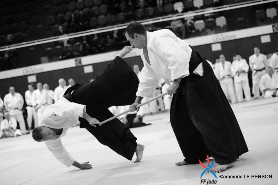 Combat aikido chute