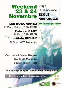 Read more about the article Stage CID Provence Ecole régionale – Sainte-tulle (04)